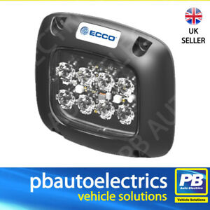 ECCO SecuriLED II SERIES Amber Surface Mount Strobe 12/24v R65 R10 IP67 -ED5110A