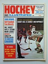 Vintage HOCKEY ILLUSTRATED Magazine April 1965 Bobby Hull Cover 283