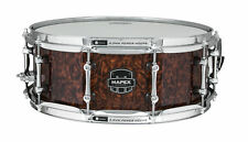 "Mapex Armory 14""x5.5""Dillinger Snare Drum Walnut Stain over Figured Wood"