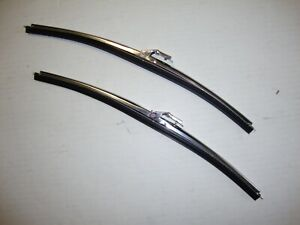 1967-1972 Chevrolet GMC 1961-1986 Ford Truck Windshield Wiper Blades Stainless