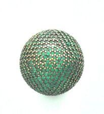Runde Cubic Zirkonia-Ringe mit echten Edelsteinen aus Sterlingsilber