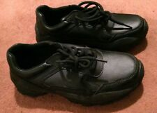 KEUKA Suregrip Negro Zapatos Tenis UK Size 3