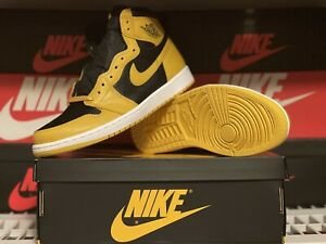 Air Jordan 1 Retro High OG - Pollen - Nike - 555088 701 - Men's Size 10