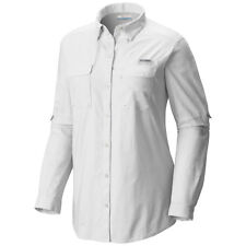 "New Womens Columbia PFG ""Bonehead"" Long Sleeve Fhising Shirt XS-S-M-L-XL"