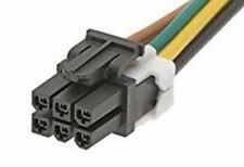 Molex Mini-Fit Jr 45135 Series Number Wire to Board Cable Assembly 2 Row, 6 Way