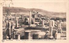 Volubilis il grand bassin o la dove si trova il colonnes (marocco)