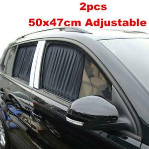 Auto Side Window Sun Shade Curtain Car Sunshade Shield UV Protection Accessories