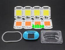 LED COB Grow White Chip+Lens Reflector 50W 30W 20W 110V/220V For LED Flood Light