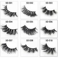 25mm False Eyelashes Makeup 5D Mink Thick soft Natural Dramatic Long Lashes /