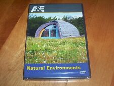 HOUSE BEAUTIFUL NATURAL ENVIRONMENTS A&E Recycled Material Homes NEW SEALED DVD