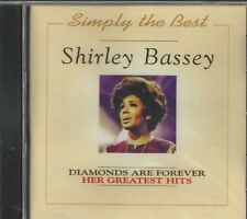 SHIRLEY BASSEY - Diamonds Are Forever - Her Greatest Hits - CD - BRAND NEW