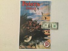 Vintage Peters cartridge advertising poster display