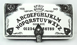 Nemesis Now Spirit Board Ouija Board 3D Embossed White Wallet Wiccan Gothic Gift