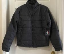 Surplus Men's Puffer Winter Coat Ski Jacket Gray *U Pick Size - S, M, L, XL New!