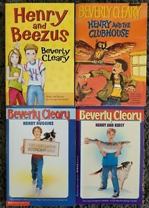 BEVERLY CLEARY HENRY TITLES PAPERBACK 4 CHAPTER BOOK LOT COLLECTIONSHIPS FREE