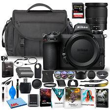 Nikon Z 7II Mirrorless Digital Camera 45.7MP with 24-70mm Lens + 64GB SD Bundle