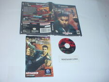 DEAD TO RIGHTS game complete in case w/ manual - Nintendo GAMECUBE