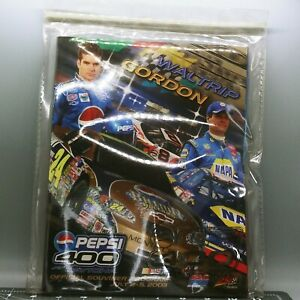 Pepsi400 Daytona 2003 NASCAR Winston Cup Jeff Gordon Waltrip Auto Racing Program