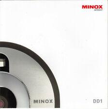 Minox Prospekt für Minox DD1