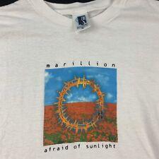 Vintage Marillion Afraid Of Sunlight Tour Shirt 1995 GEM TAG Size XL
