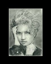 Madonna singer/songwriter drawing  from artist art imege picture