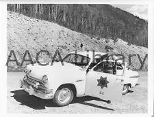 1951 Ford Custom Tudor Deluxe, Police, Factory Photo (Ref. # 42367)