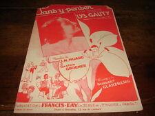 LYS GAUTY - Partition SANS Y PENSER !!!!!!!!!!!!