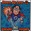 DOWN BY LAW / PSEUDO HEROES split CD 2000 SEALED --- punk