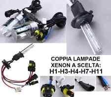 Coppia lampade bulbi XENON ricambio.H1,H3,H4,H7,H11.6000K.Bianco Xeno 35W 50 55