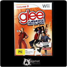 Glee Karaoke Revolution Volume 3 (Wii & Wii U) NIntendo - Music - Singing  - PAL
