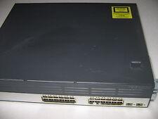 Cisco ws-c3750g-24ws-s50 Catalyst 3750g 24 Gbit, Poe, 2 sfp, WLAN Controller + RMK