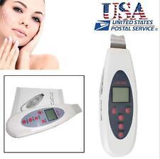 USA Ultrasonic Scrubber Peeling Facial Cleansing Skin Care Beauty SPA Equipment