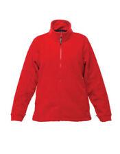 Vestes et imperméables de randonnée rouges en polyester pour femme