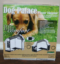 "Dog Palace Floor Heater Small Large Doghouse Dog Palace Any 18"" x 18"""