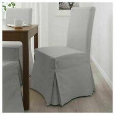 🌷Ikea Orrsta Light Gray Cover for Henriksdal Chair Long Slipcover Preowned