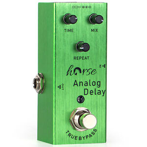 Guitar Electric Effect Pedal Analog Delay Mini Single True Bypass Parts