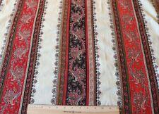 "Antique 19thC Kashmir Wool Paisley Shawl~Cream Ground~35""Square"