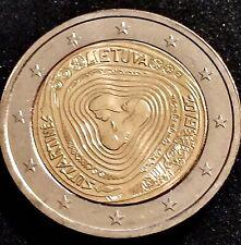 MONEDA DE 2 EUROS CONMEMORATIVA  LITUANIA   2019 SIN CIRCULAR