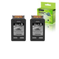 2PK 56 Black Ink Cartridge FOR HP PSC 1210 1210v 1216 1310 1315 2210 2210xi 2410