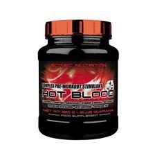 HOT BLOOD 820gr SCITEC NUTRITION oxido nitrico PRE-ENTRENAMIENTO