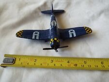 MODEL AIRCRAFT MAISTO F4U-10 BLUE