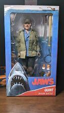 NECA Jaws - Sam Quint (8 inch) (Clothed) Action Figure (read description)