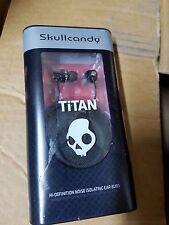 Skullcandy Titan In Ear Bud - Black