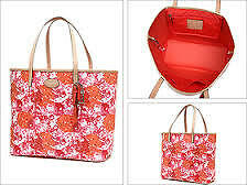Coach Bag F31314 Metro Floral Print Tote in Multicolor Agsbeagle