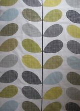 Orla Kiely Multi Stem Scribble Sea grass 200cm square 2m / 2m fabric lightweight