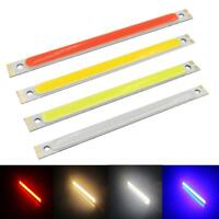 200X10mm LED Panel Strip COB Chip Light Lamp White/Warm White/Red/Blue 12V 10W