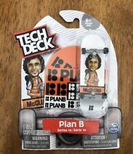 New Tech Deck 4 Pack PLAN B Skateboards Fingerboards Shecks Cole Series 3