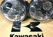 10-16 KAWASAKI MULE 4000 & 4010 LED HEADLIGHTS CONVERSION KIT- PAIR! USA -