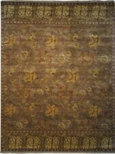 "Authentic  Wool 8' 2"" x 10' 0"" India Sultanabad Rug RNR-9576"
