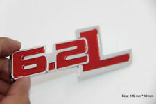 B228 6.2L Power Emblem Badge auto aufkleber 6.2LSeite car Sticker rot